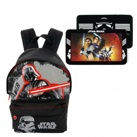 "Tablet eSTAR WiFi 7"" Star Wras + Cante Kopshti Star Wars"
