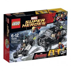 SET LEGO MARVEL-AVENGERS HYDRA SHOWDOWN 76030