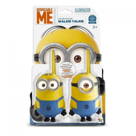 Radio Minions Walkie Talkie