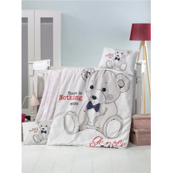 Set carcafe per krevat bebi Teddy