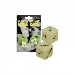 Zara Fosforeshent Seksi Glow in the Dark Love Dice