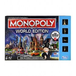 Monopoly Here and Now World Edition from Hasbro