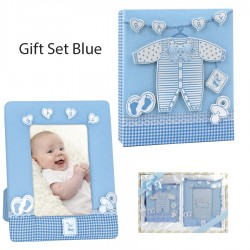 Set Dhurate Bebe Blue