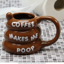 "Gota ""Coffe makes me poo"""