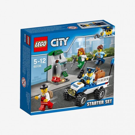 Lego City Set V29 Police Starter 60136