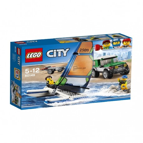 Lego 4x4 with Catamaran V29 60149