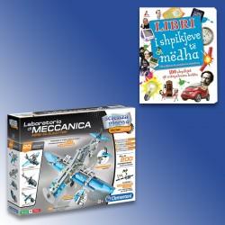 Loder Laboratorio Di Meccanica Aerei E Elicotteri Clementoni + Libri I Shpikjeve Të Mëdha