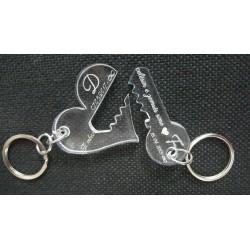 Varese Celesi Heart & Key e Personalizuar