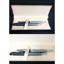 Stilolapsa Luksoze 613 te Personalizuar Black & Silver