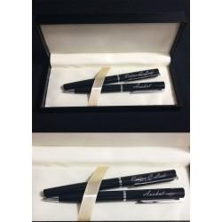 Stilolapsa 865 Slim Black te Personalizuar