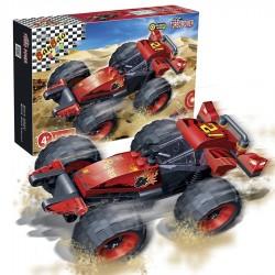 "BanBao Set Ndertimi ""Turbo Power""  Rodeo Makine me kurdisje"