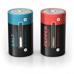 Mbajtese kripe/piperi si bateri