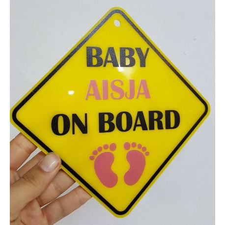 Tabele Baby on Board e Personalizuar