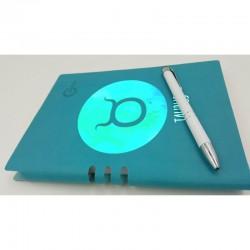 Bllok Lekure 7001 Colors dhe Stilolaps metalik te personalizuar