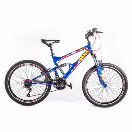 """Biçiklete 24"""" Max Hummer Blue"""