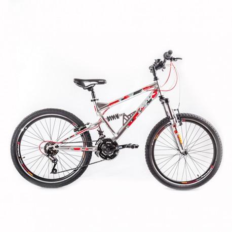 """Biçiklete 24"""" Max Hummer Nickel"""