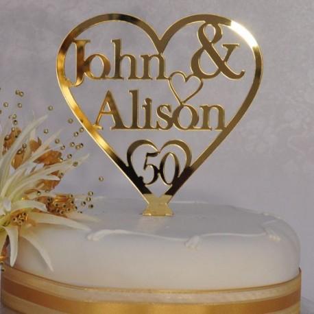 Dekorues Torte Gold