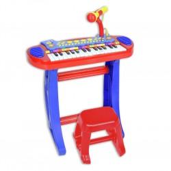 Piano Elektronike Mikrofon dhe Stol