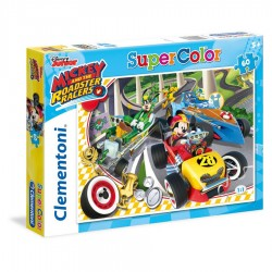 Clementoni Puzzle Mickey Roadster 60 Cp