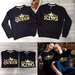 Bluze per Meshkuj I am her KING