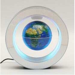 Glob magnetik 4 inch Blue Light