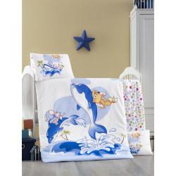 Set carcafe per krevat bebi Ocean