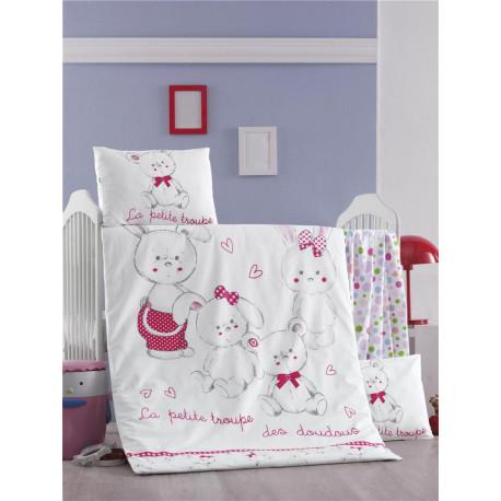 Set carcafe per krevat bebi Family