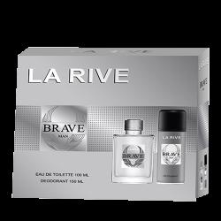 Set Parfum LA RIVE per Meshkuj Brave