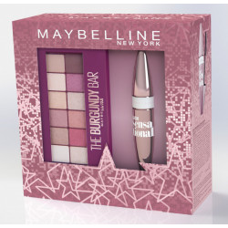 Maybelline Set Rimel Volum Express & Palete