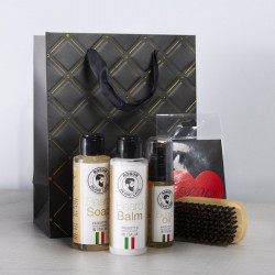 "Set per Mjekren Natural Care ""Made in Italy"""