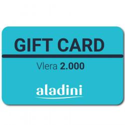 Gift Card Aladini 2000