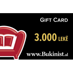 Gift CARD BUKINIST – 3000 leke