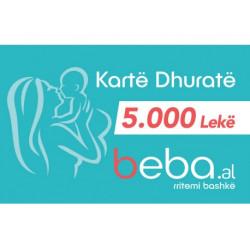 Gift CARD BEBA.AL- 5000 Leke