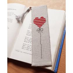 Shenjuese Libri (bookmark) Qendisur me Pune Kryq