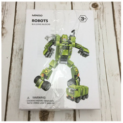 """Loder ndertuese, """"Robots"""", 1602, 3+, jeshile"""