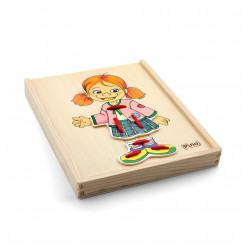Radhitese ne Kuti me Lidhese Vajza 20 Elemente 4 Motive