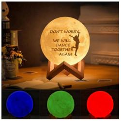 Abazhur i personalizuar `Moon Lamp` 20 cm