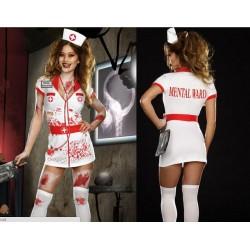 Kostum Halloween Infermiere e Gjakosur