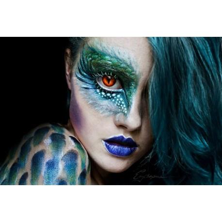 Lente Kontakti Halloween Dragon Eye