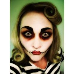 Lente Kontakti Halloween 3Tone Swirl