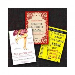 Femra përballë pasqyrës - set me 3 libra
