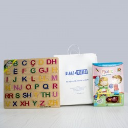 Set Libri i Fjaleve Te Para me Alfabetin