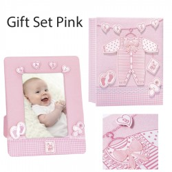 Set Dhurate Bebe Pink