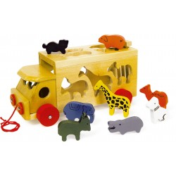 Small Foot - Kamioni me Kafshet e Kopshtit Zoologjik