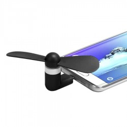 Mini ventilator per smartphone Android.