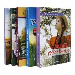 Historitë e Ana flokëkuqes, set me 5 libra