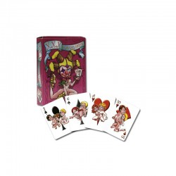 Letra Bixhozi XXX Playing Cards